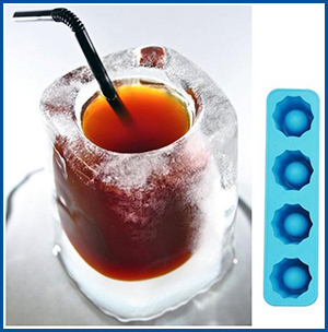 Party Shot Glass Ice Molds - Camp Yiyi