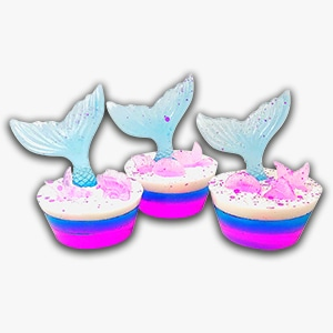 Fish Cupcake Bath Bombs - Tranquility Cosmetics