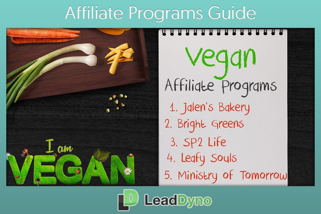 Latest Vegan Affiliate Programs Guide by LeadDyno